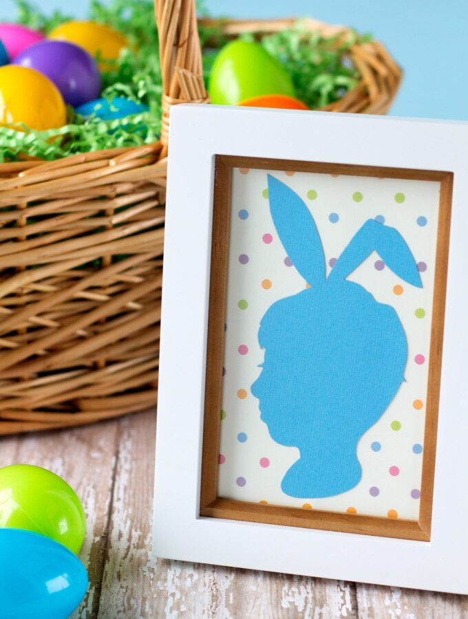 How to Make Easter Silhouette Portraits