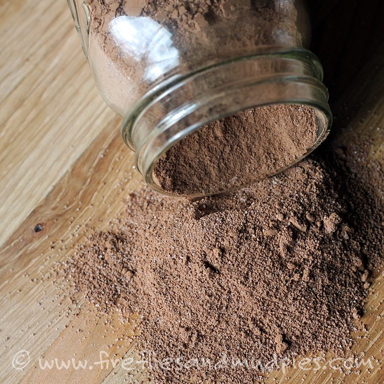 Super easy hot chocolate mix!