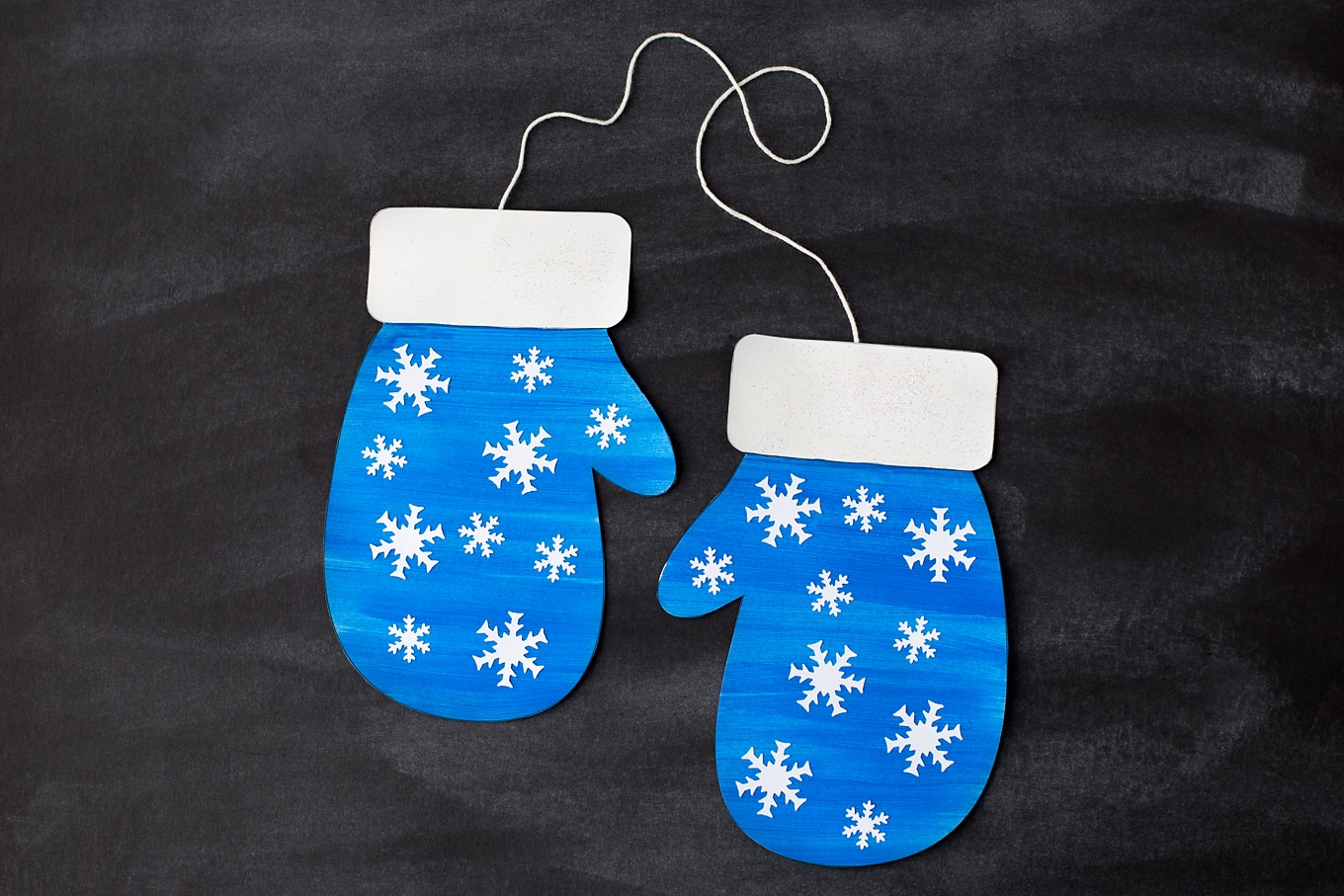 Easy Mitten Craft for Kids