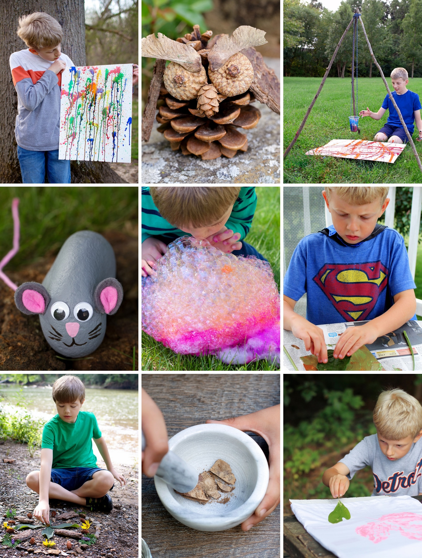 Fun Outdoor Arts And Crafts Ideas For Kids Fireflies And Mud Pies