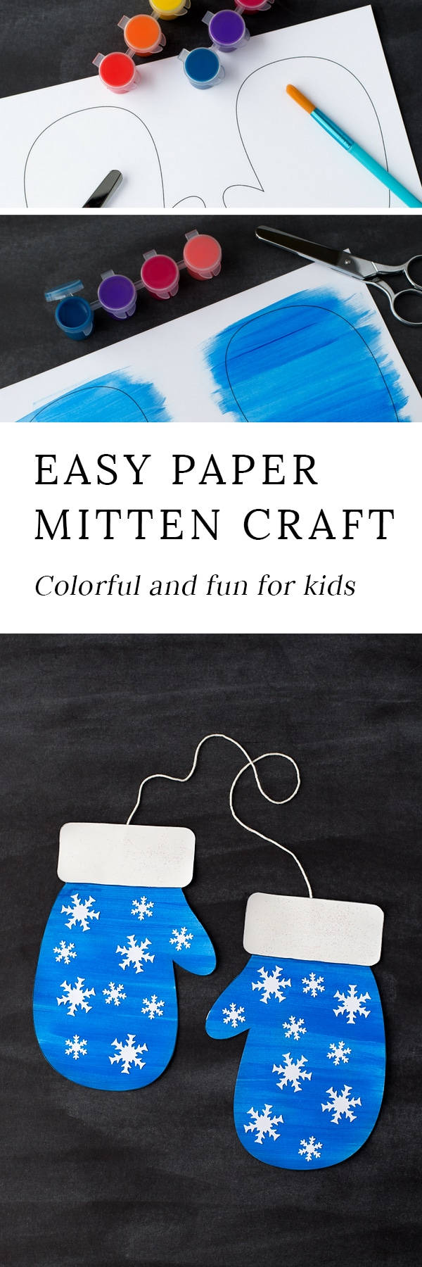 The Most Colorful and Fun Winter Mitten Craft for Kids