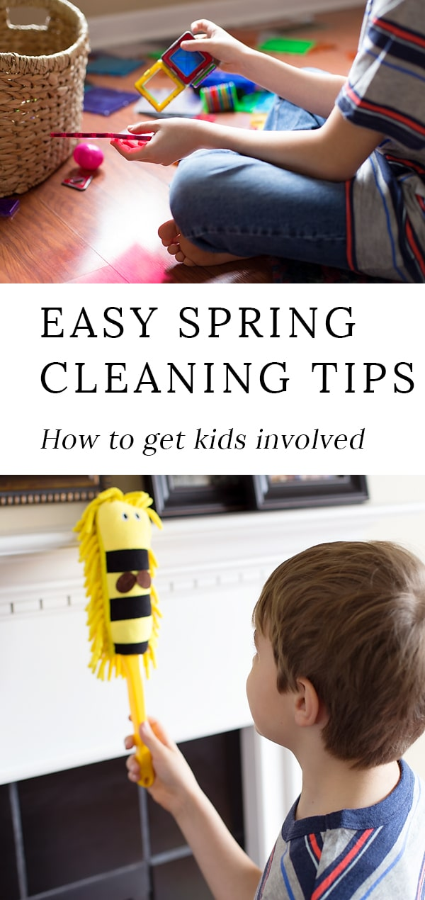 In our home, we are always looking for ways to help each other. It's what family is all about, right? The big-ticket item on my to-do list this week? Spring cleaning. Yup, it's time to say goodbye to that winter grime and say hello to the crisp, clean, and much-needed springtime air!