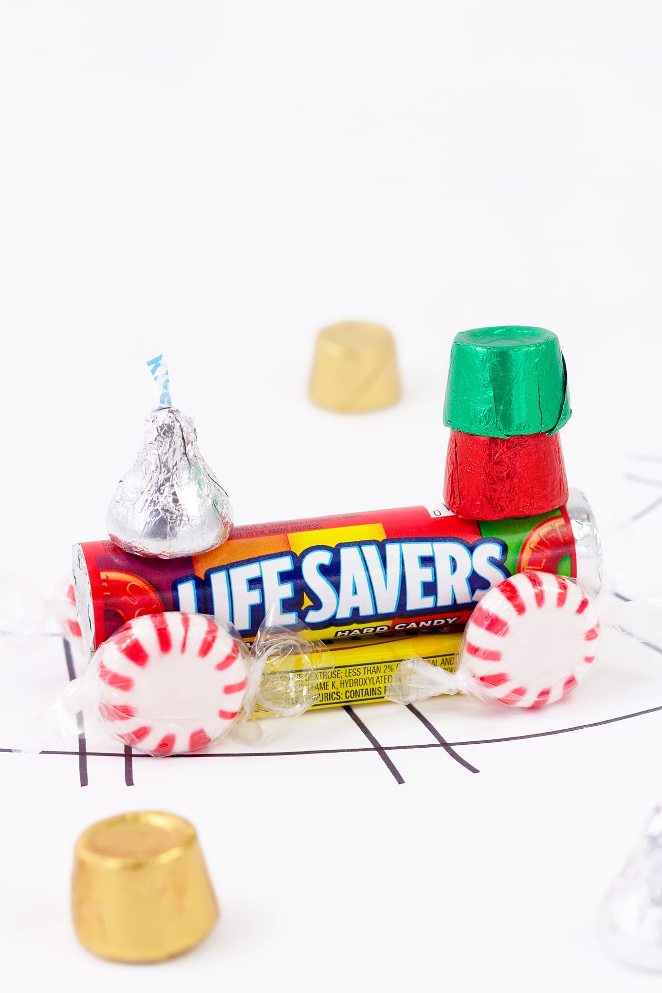 Life Savers Christmas Candy Train