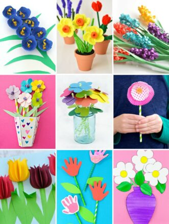 Easy and Fun Flower Crafts for Kids