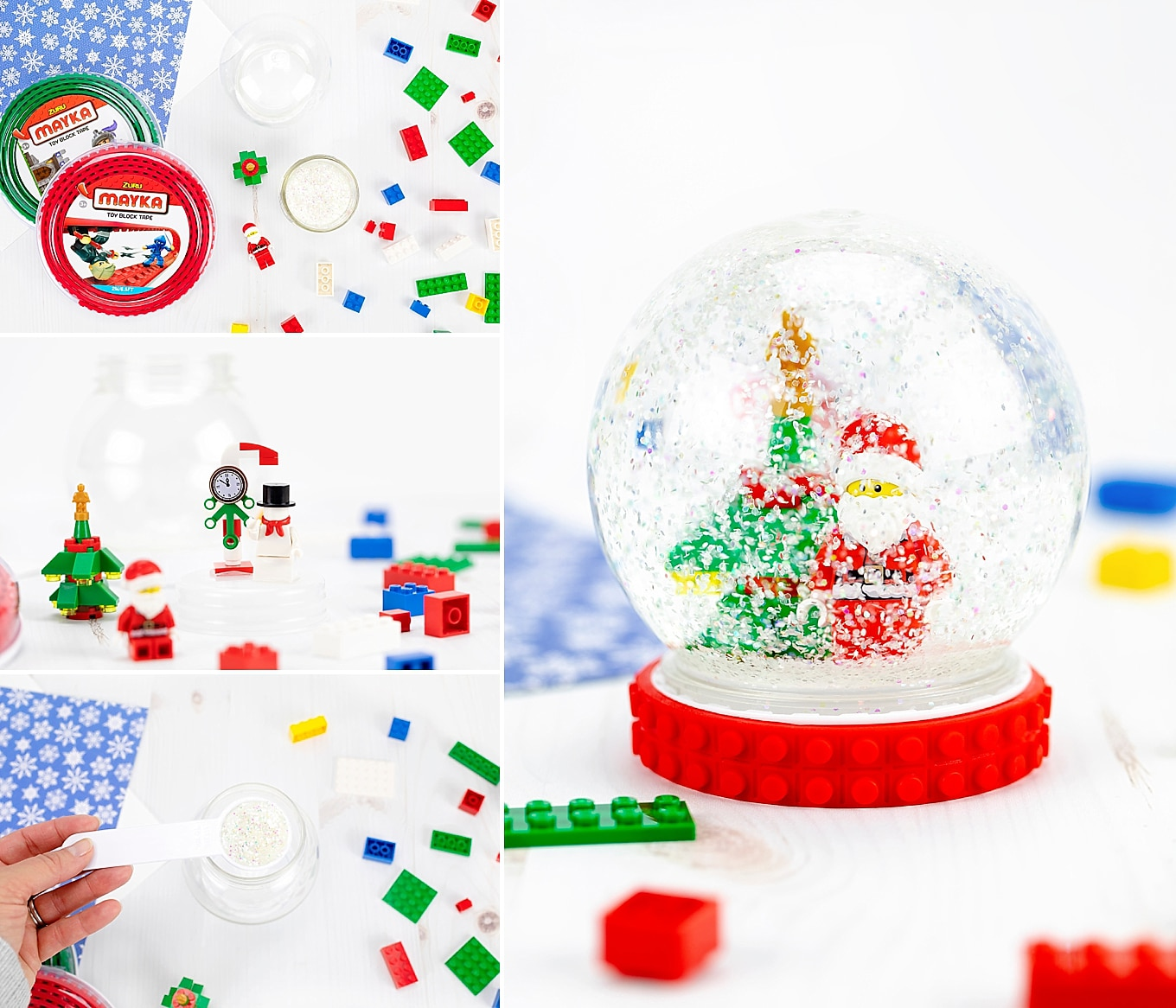 Easy Tutorial for DIY Snow Globes