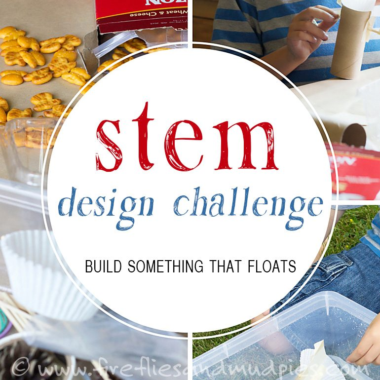 STEM Design Challenge | Fireflies and Mud Pies