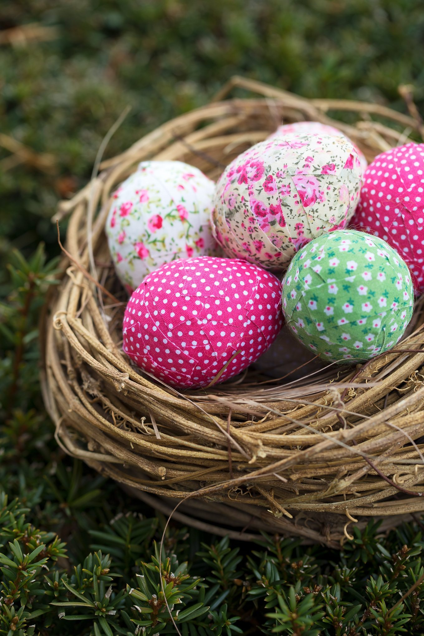 Shabby Chic Easter Eggs