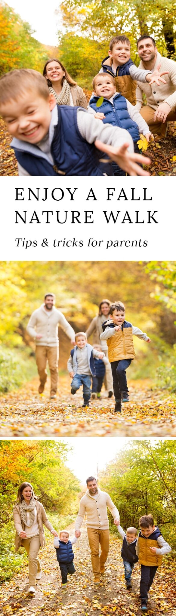 Spending time outside is important for a child's physical and mental health. Here are the best tips and tricks for enjoying nature walks with kids.