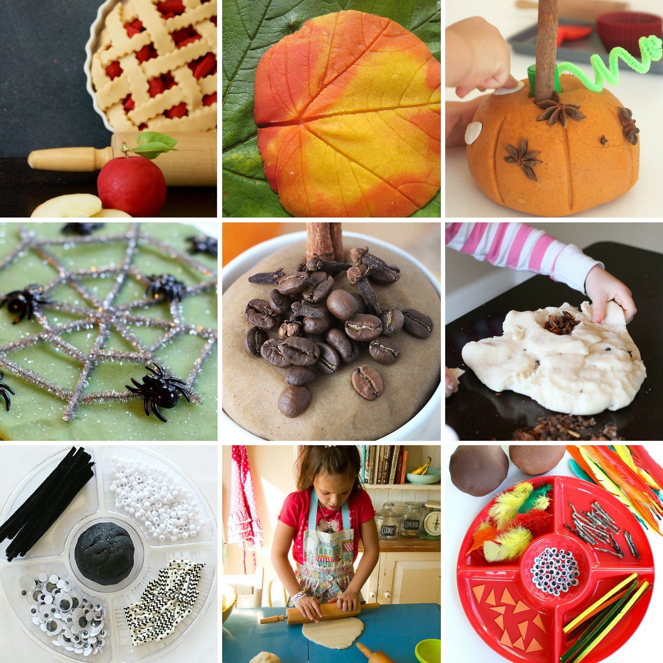 Discover 50 autumn playdough recipes for kids, perfect for home, school, or daycare!