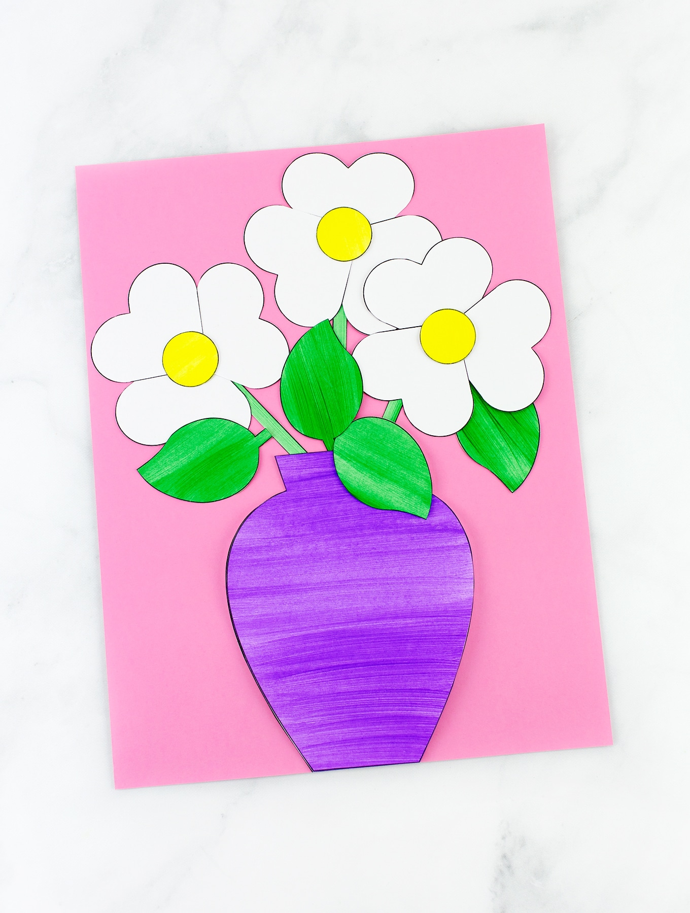 Easy And Fun Paper Flower Bouquet Craft