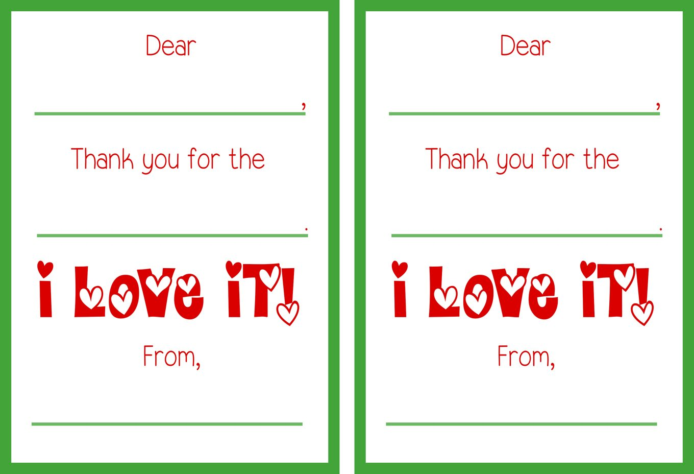 photo regarding Christmas Thank You Cards Printable Free named No cost Printable Xmas Thank On your own Playing cards