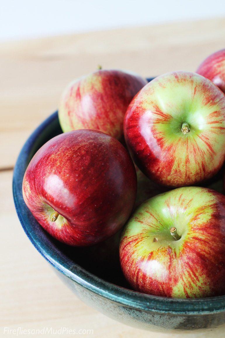 Fresh Apples for Apple Crisp