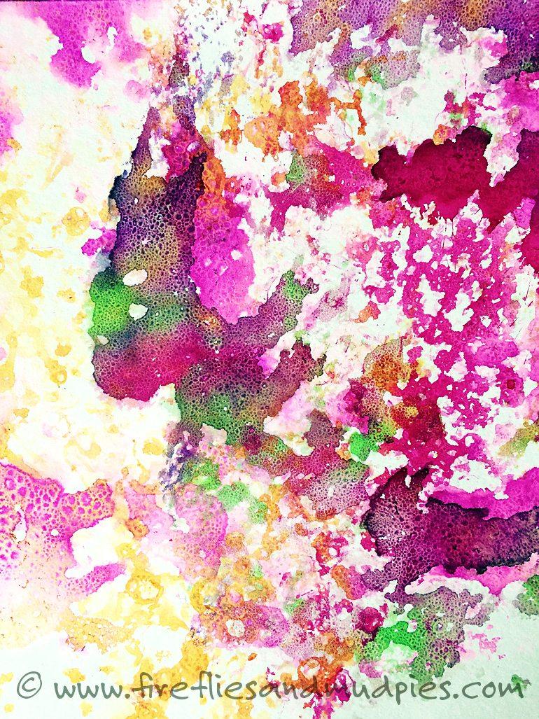 Soap Foam Prints   Fireflies and Mud Pies