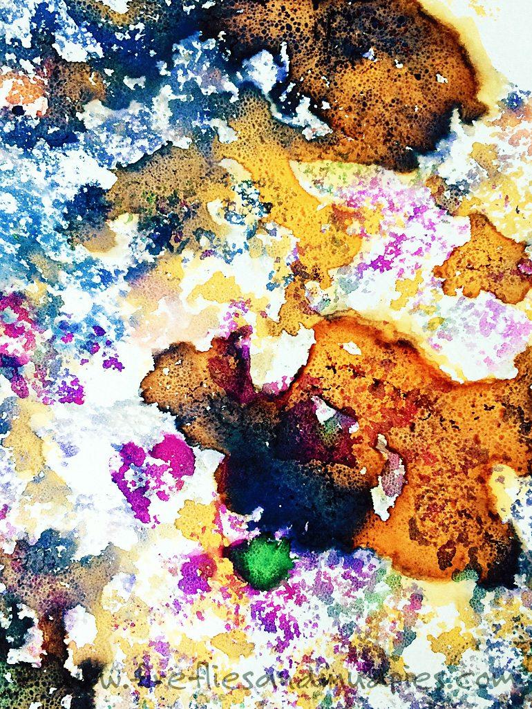 Soap Foam Printing   Fireflies and Mud Pies