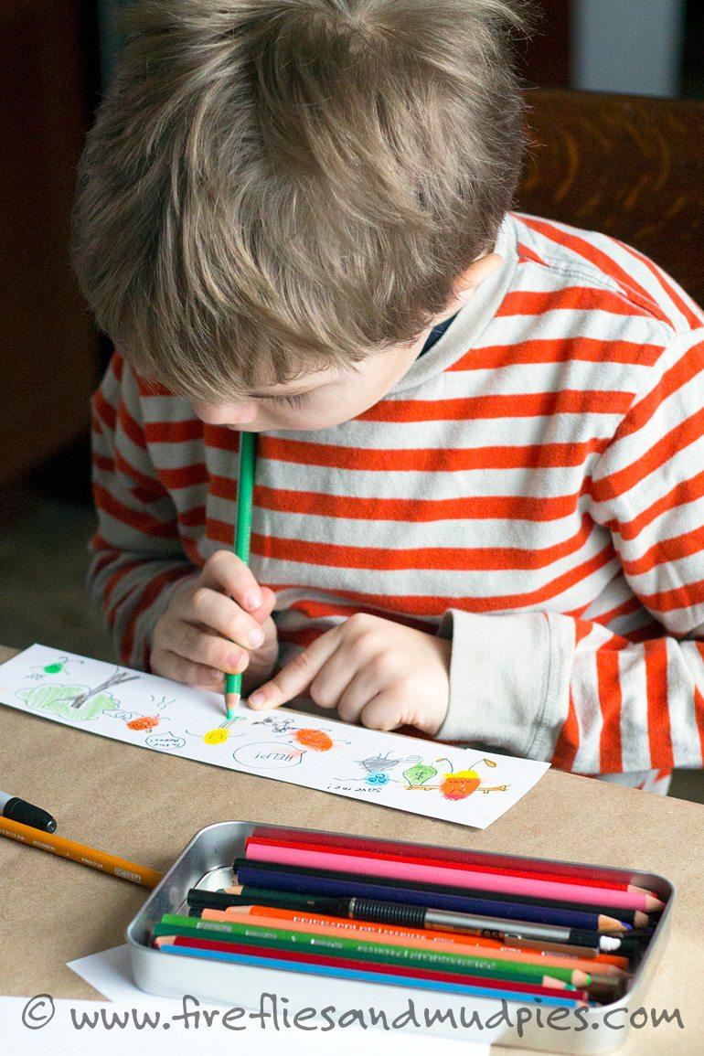 Fun Art for Kids   Fireflies and Mud Pies