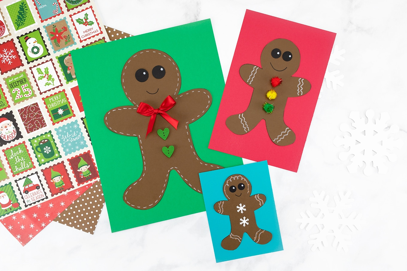 Gingerbread Man Craft for Kids