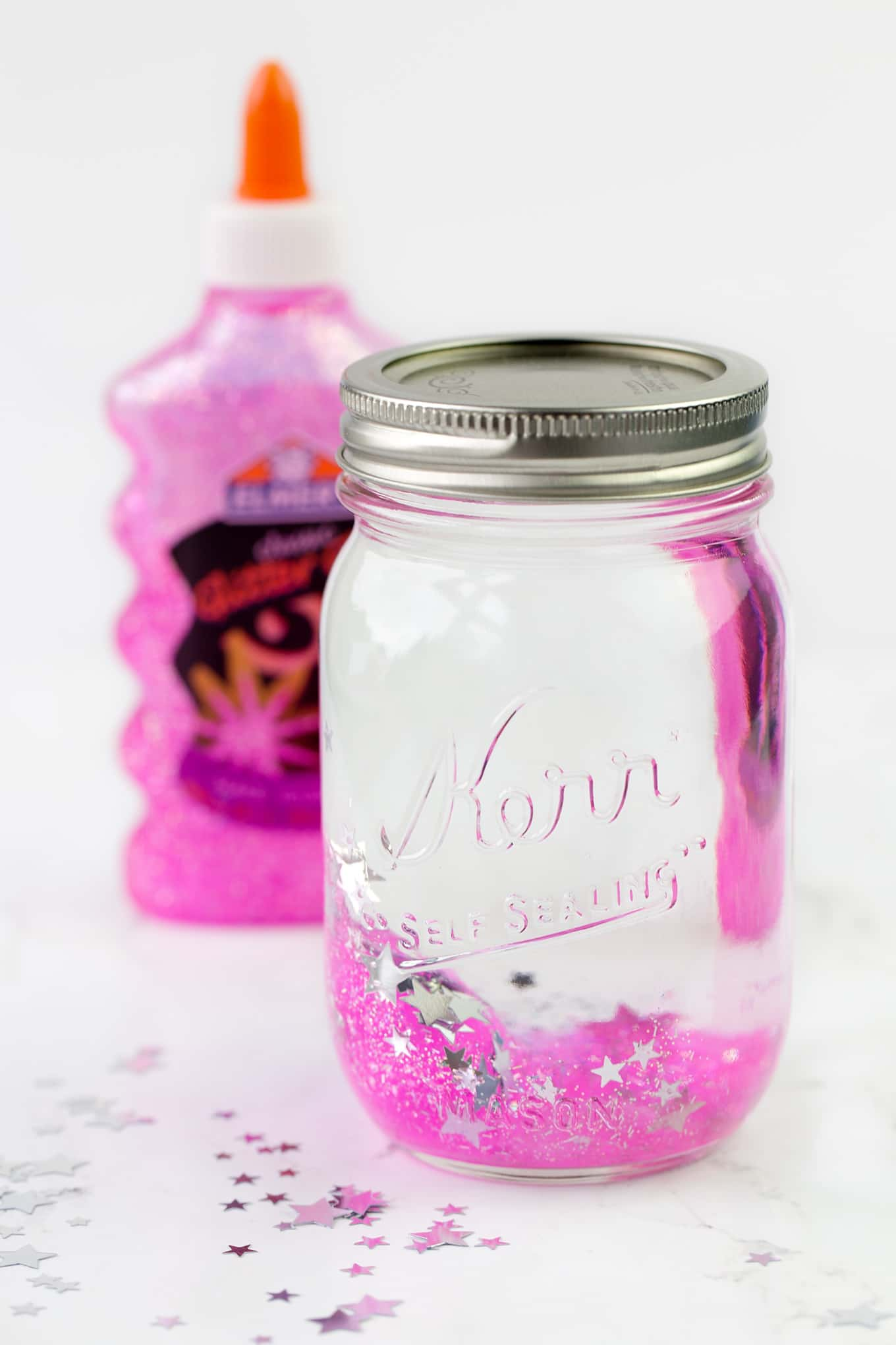Mindfulness is an important skill for kids to develop. Learn how to make a glitter jar to promote mindfulness and calm in your home or classroom.