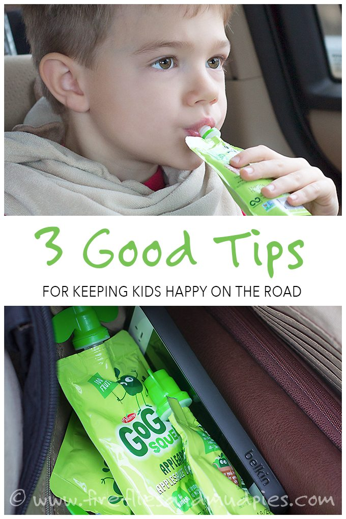 3 Good Tips for Keeping Kids Happy on the Road | Fireflies and Mud Pies