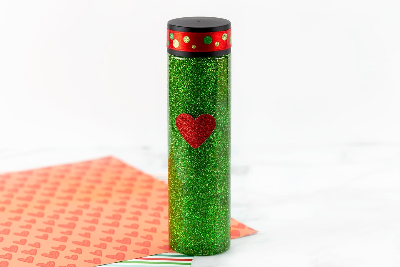 Grinch-Inspired Sensory Bottle