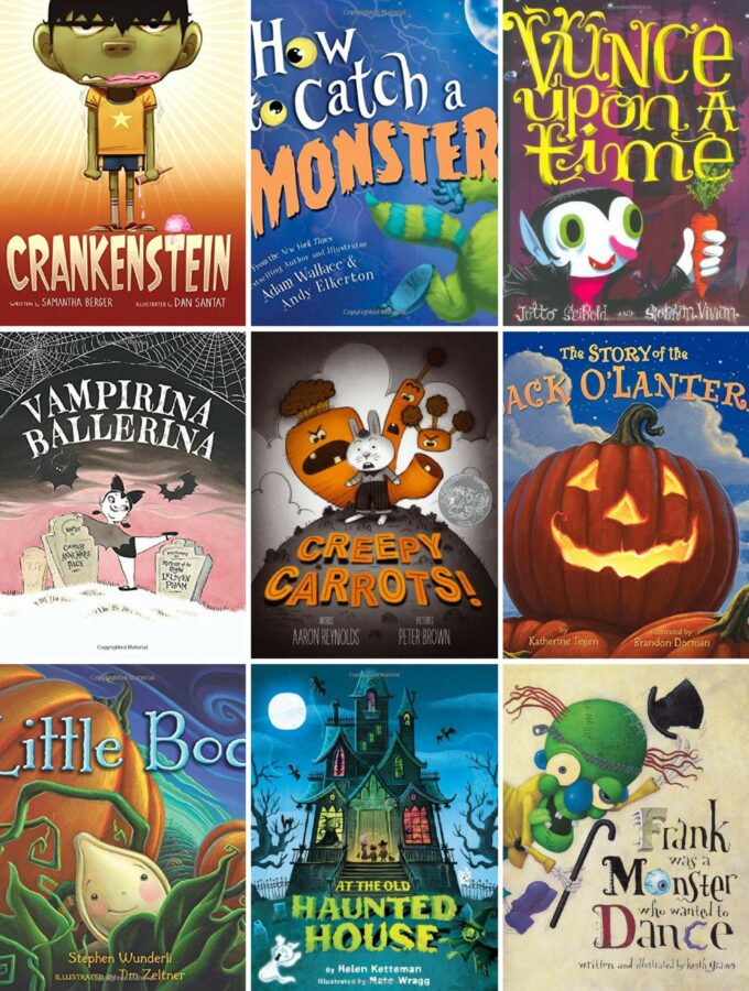 50+ Delightful Halloween Books for Families