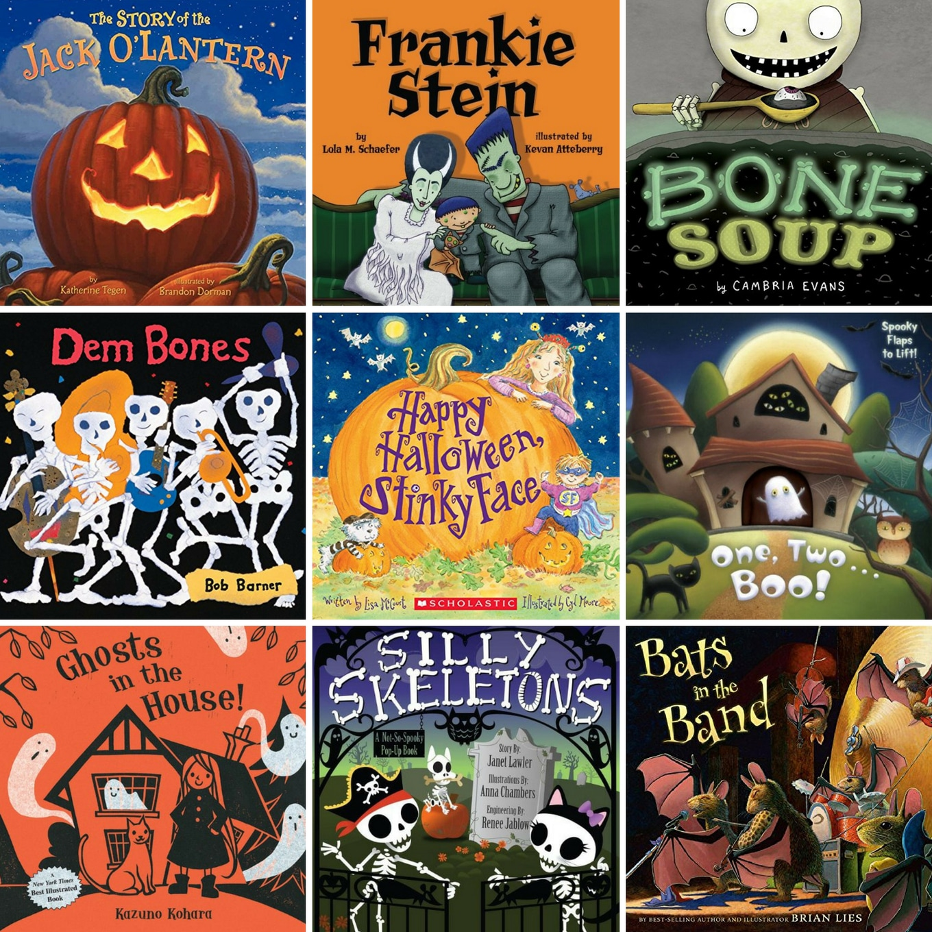 from pumpkins and skeletons to black cats and ghosts discover 50 delightful halloween books