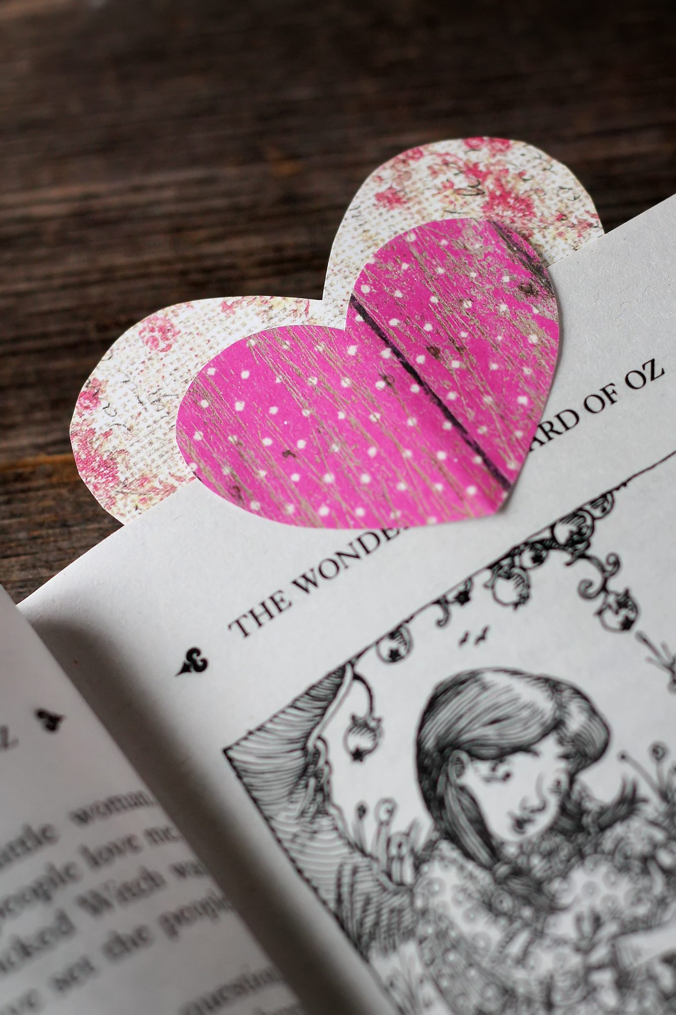 Learn how to create Easy Heart Bookmarks, the perfect Valentine's Day craft for readers of all ages!
