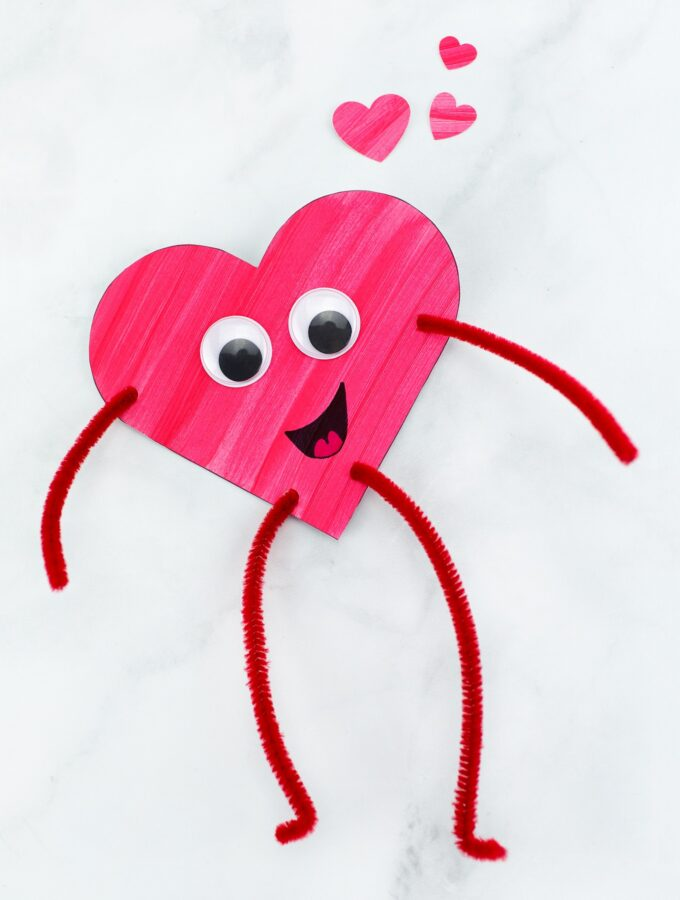Heart Buddies Craft for Kids