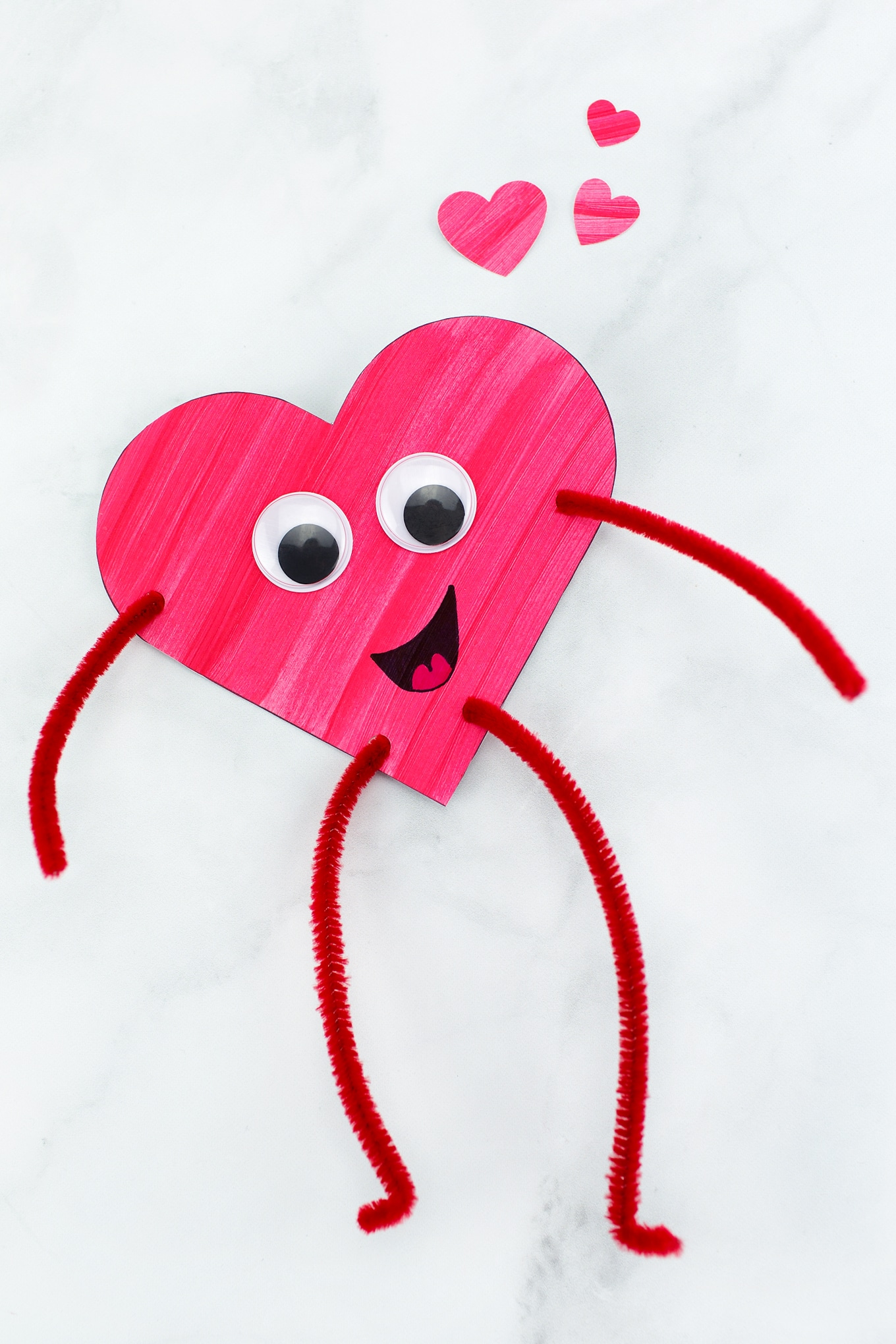 Heart buddies easy valentine 39 s day craft for kids for Valentine day crafts for kids