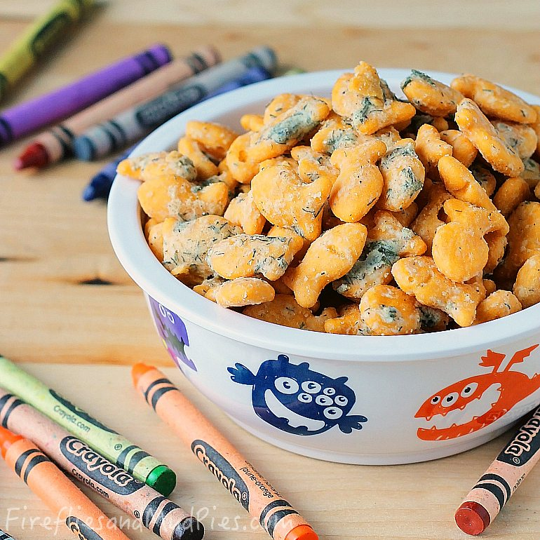 Ranch Goldfish Crackers | Fireflies and