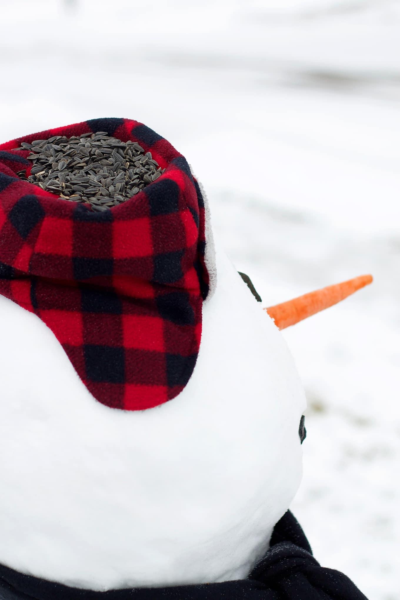 Winter Critter Snowman