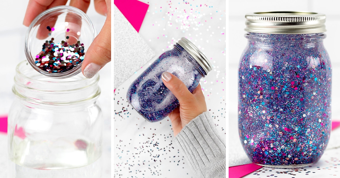 How To Make Glitter Jars Fireflies And Mud Pies
