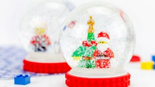 How to Make a Snow Globe for Christmas