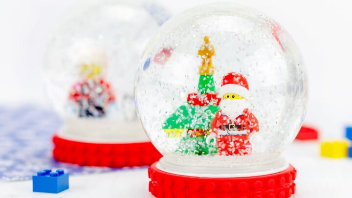 Kids Sensory Toys Snowglobe for Kids Play Easter Kids Gift Water Globe Childrens Toy Kids Shatterproof Glitter Globe Toy