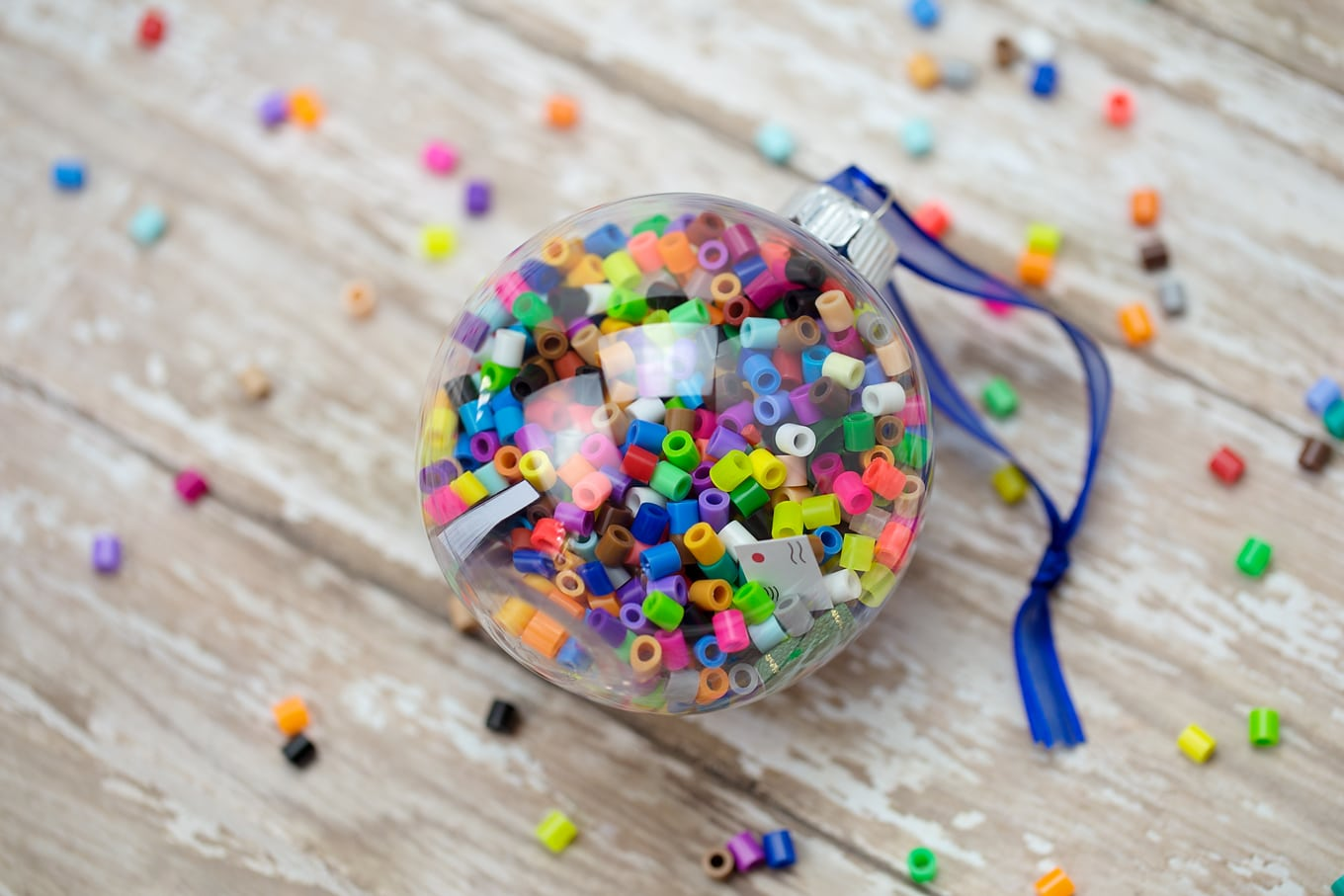 DIY I Spy Ornament for Kids