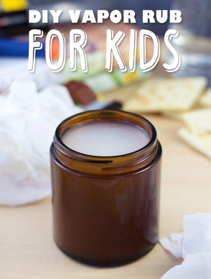 DIY Vapor Rub for Kids