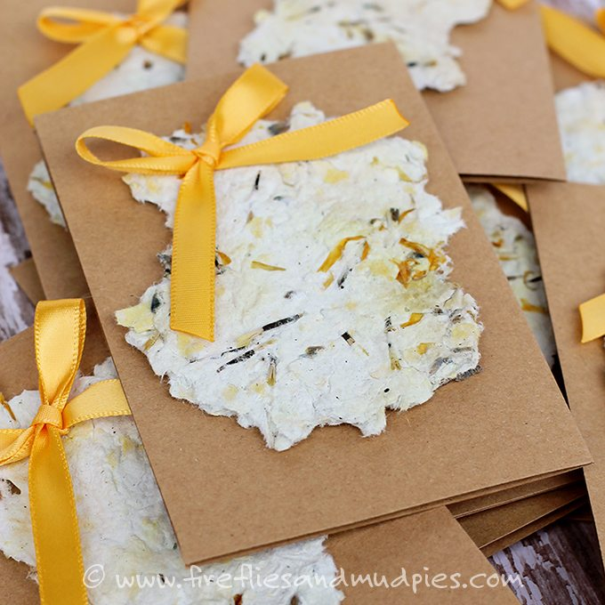Recycled Paper Seed Cards