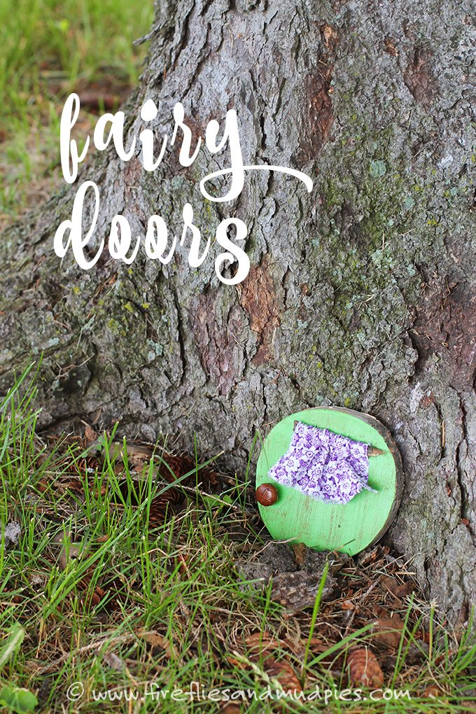 Kids will love creating magical fairy doors!