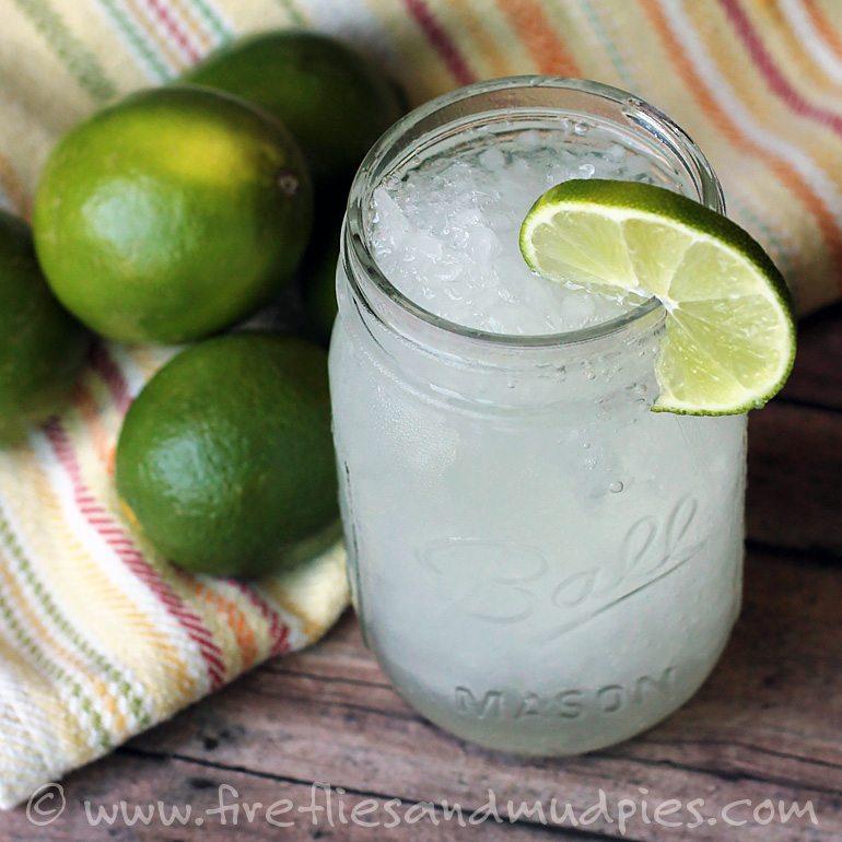 Refreshing Limeade Slushies | Fireflies and Mud Pies