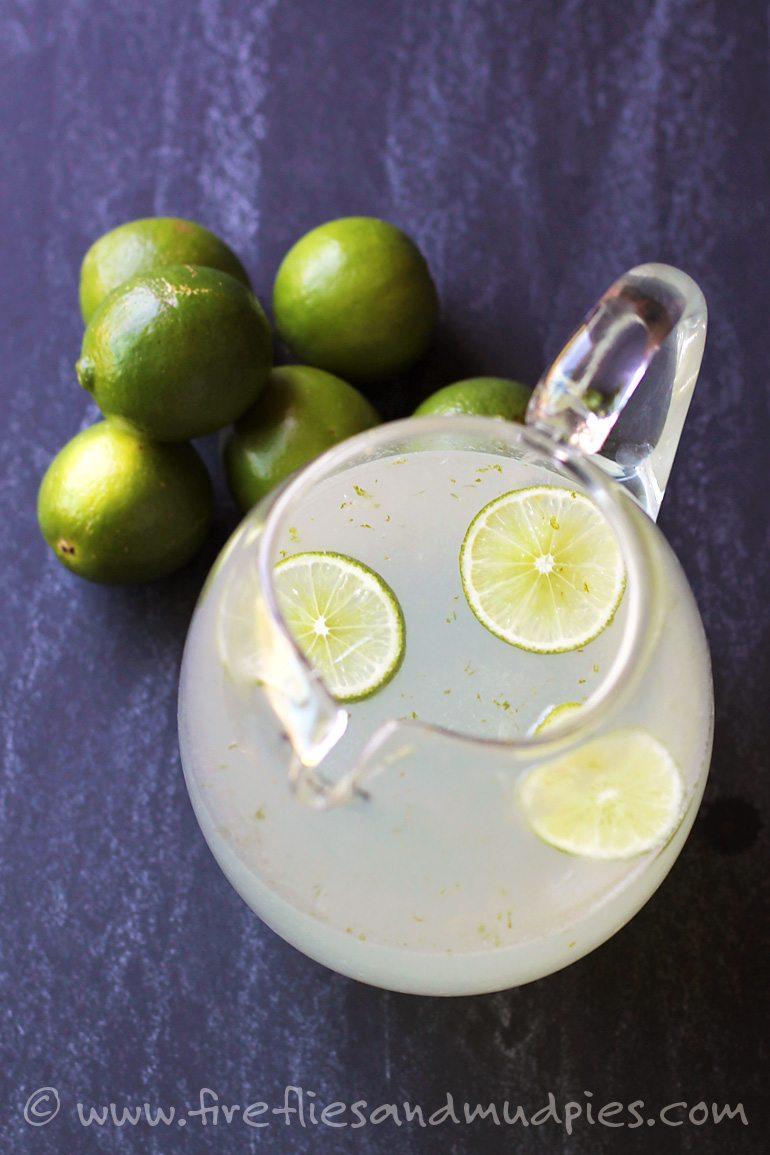 Refreshing Homemade Limeade Slush | Fireflies and Mud Pies