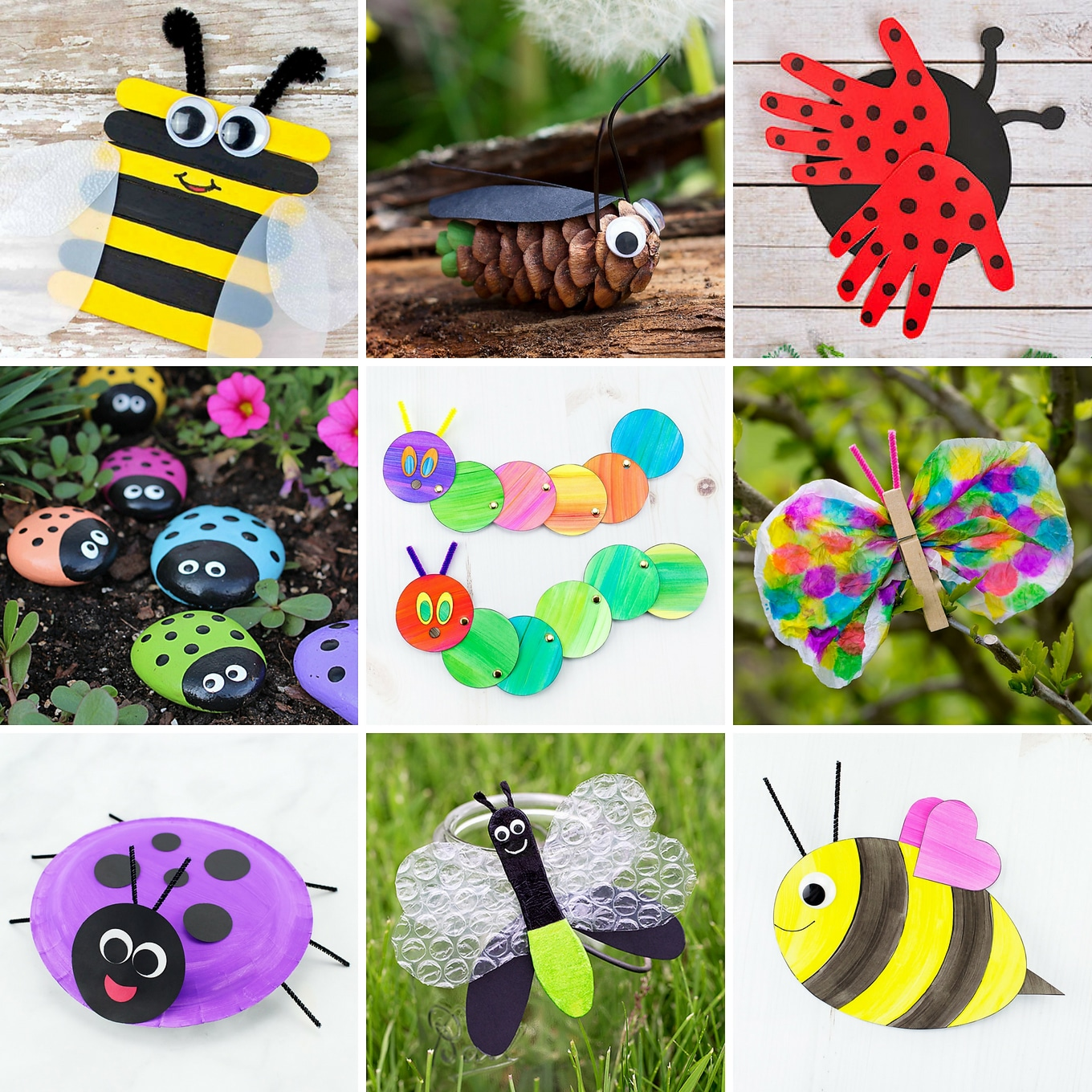 The Most Easy And Fun Insect Crafts For Kids Fireflies And Mud Pies