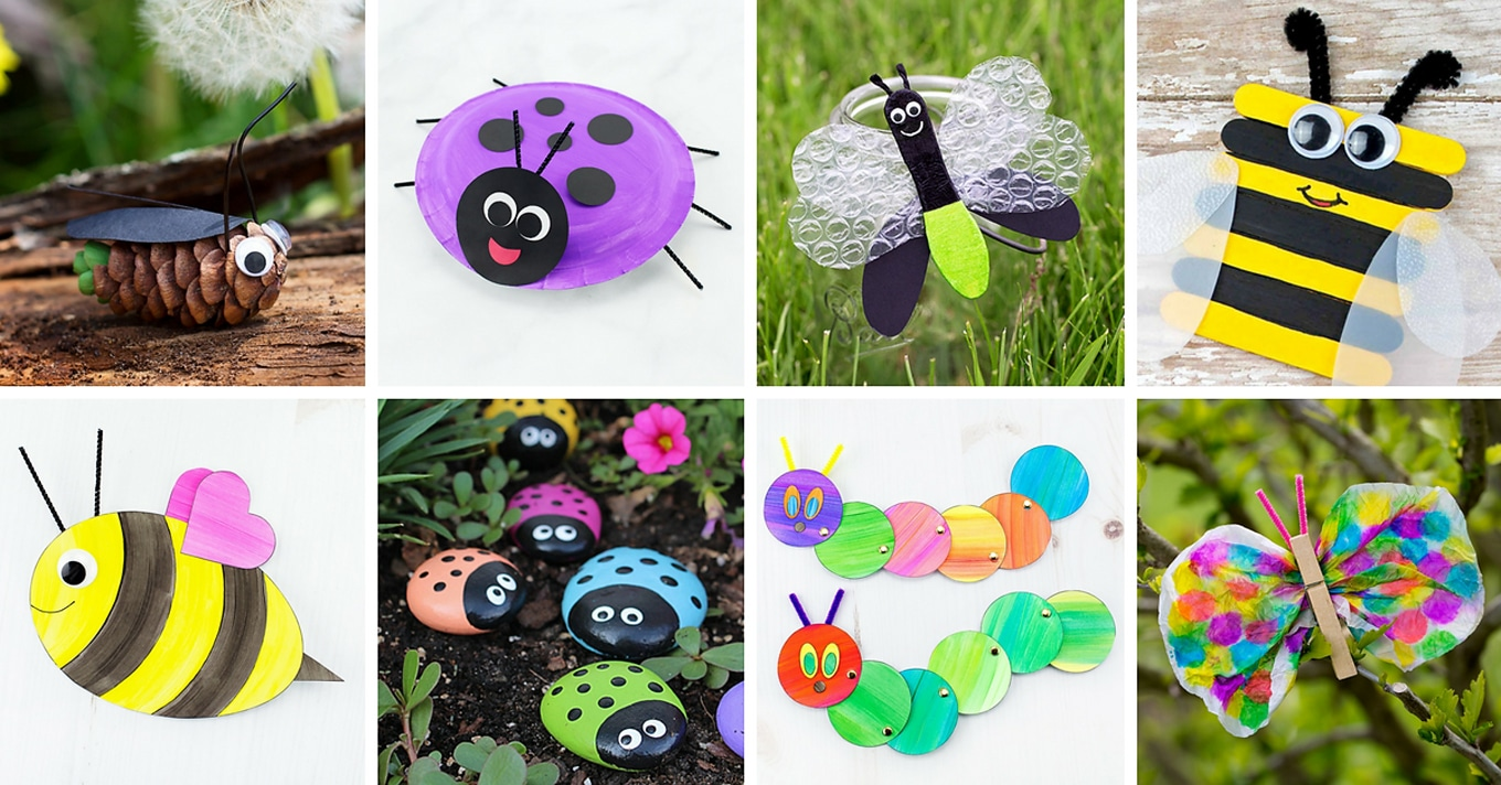 The Most Easy And Fun Insect Crafts For Kids Fireflies And