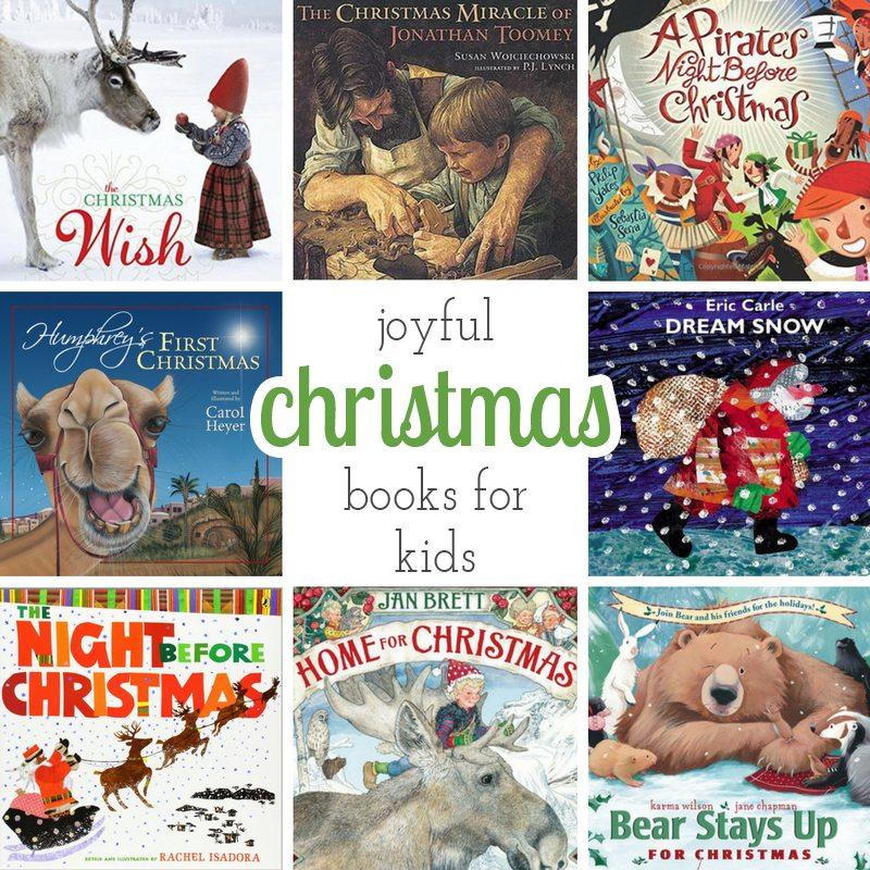 Joyful Christmas Books for Kids