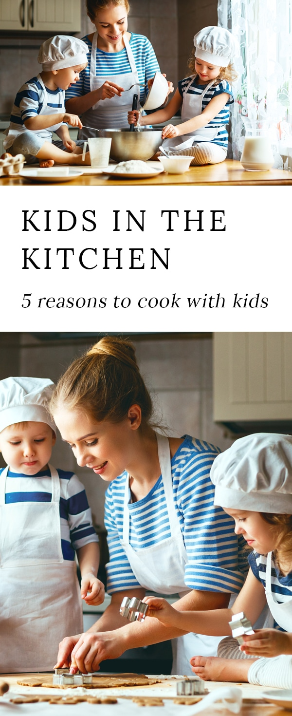 Cooking with kids is fun and has many positive benefits for both parent and child.