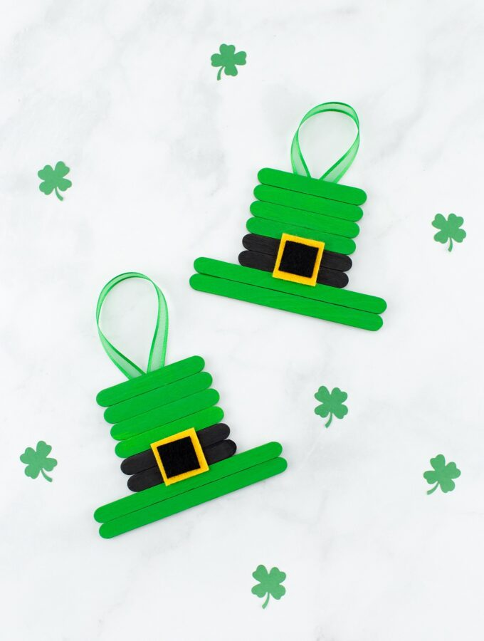 Leprechaun Heart Craft