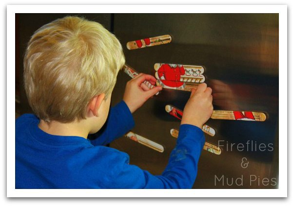Magnetic Christmas Puzzles  Fireflies and Mud Pies