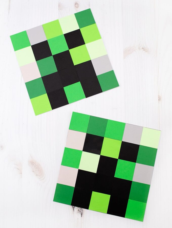 How to Make an Easy Creeper Craft for Kids