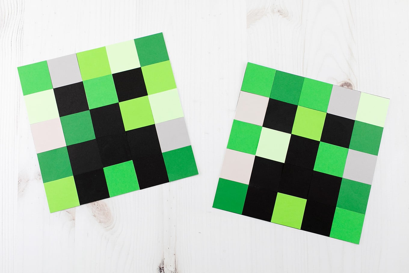 Paper Minecraft Creeper Crafts