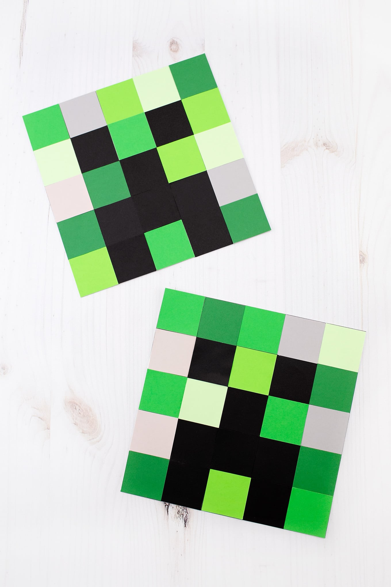 how to make an easy creeper craft