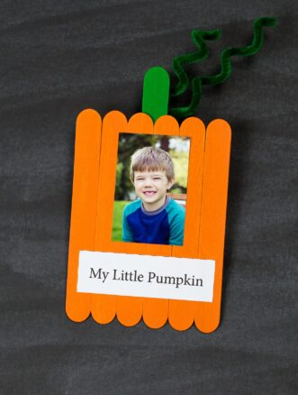 My Little Pumpkin Craft