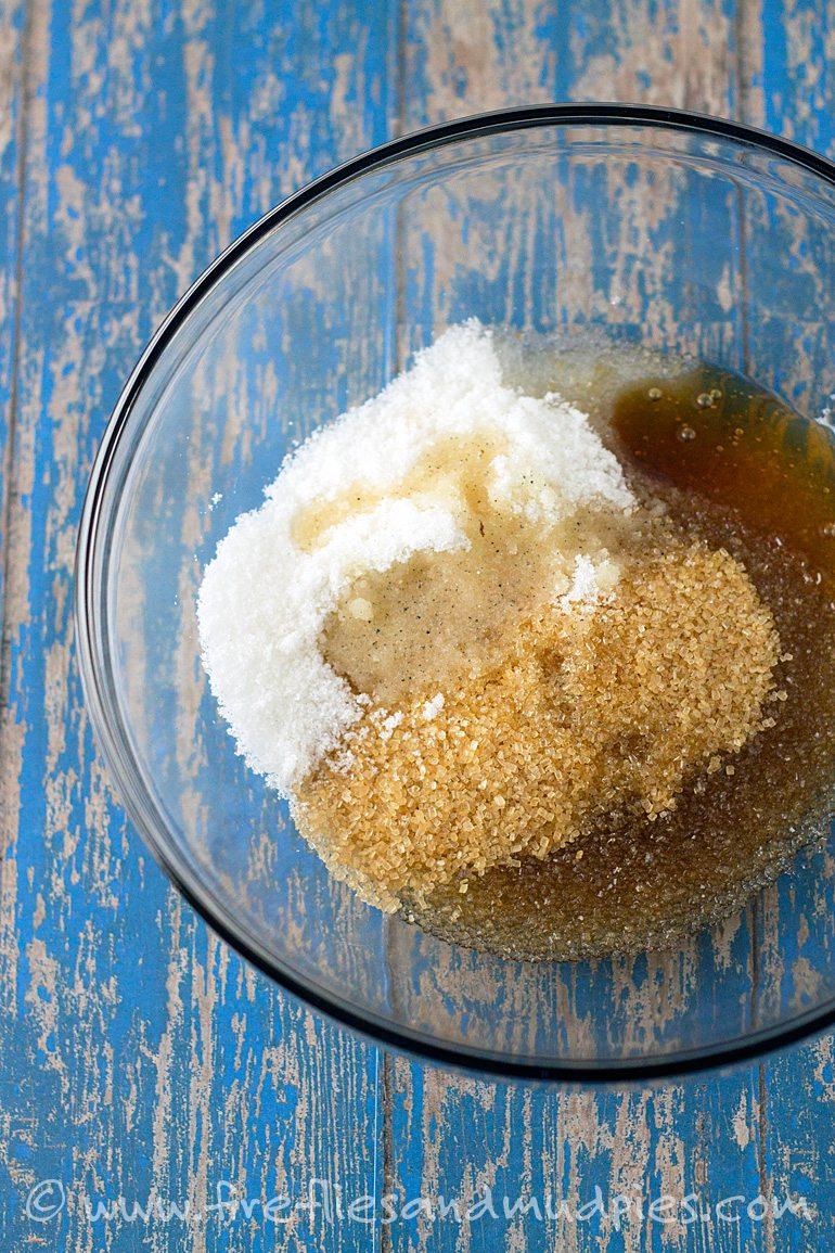 Use Vanilla Sugar to make Homemade Vanilla Sugar Scrub |Fireflies and Mud Pies